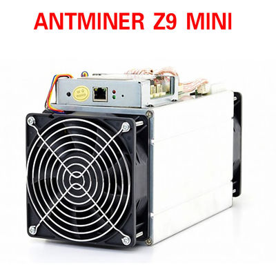 2018 Topline antminer Z9 mini bitcoin mining machine with power supply 14nm 10ksol/s