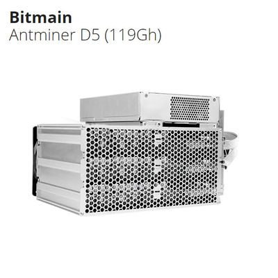 China New high profit Bitcoin Mining Device BTC Antminer D5 Bitmain X11 algorithm 119Gh factory