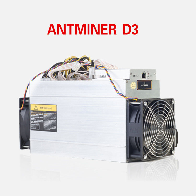 Antminer D3 (19.3Gh) From Bitmain Miner Bitcoin Machine X11 Algorithm 19.3Gh/S supplier